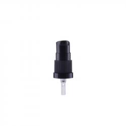 Tapón 18/415 negro dosificador de cremas. Parte frontal.