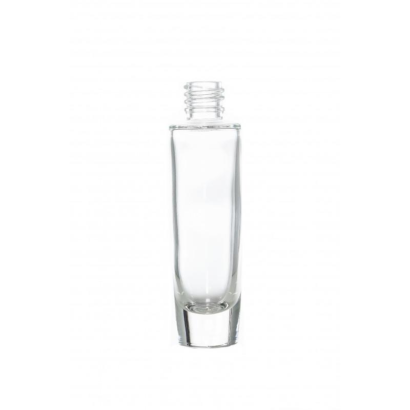 Frasco de vidrio para perfumes.
