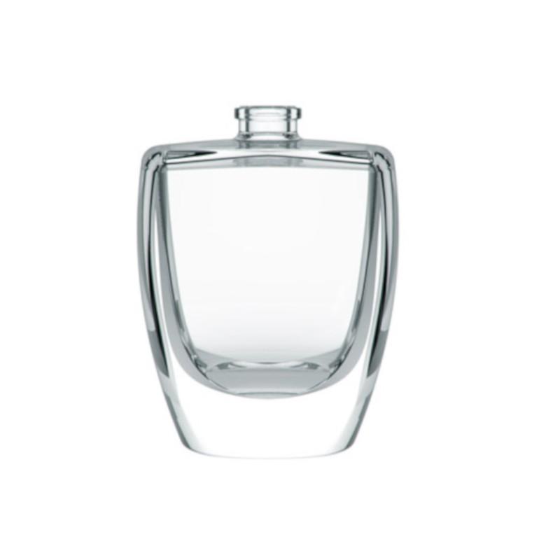 Frascos de vidrio para perfumes más exclusivos.