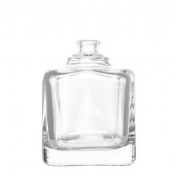 Frasco de vidrio para perfumes. cubo 100ml boca AE15