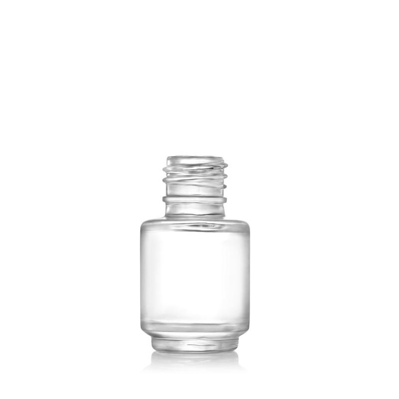 Frasco de vidrio para esmaltes de uñas- 5 ml.